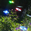 1 DiscArted Garten Windspiel für ausrangierte CDs 100cm